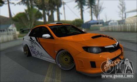 Subaru Impreza WRX STI 2010 para las ruedas de GTA San Andreas