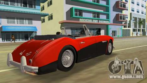 Austin-Healey 3000 Mk III para GTA Vice City left