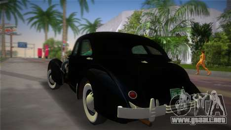 Cord 812 Charged Beverly Sedan 1937 para GTA Vice City left