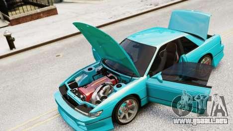 Nissan Silvia S13 v1.0 para GTA 4 visión correcta