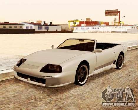 Bufón Convertible para la visión correcta GTA San Andreas
