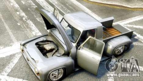 Ford FR100 Stance para GTA 4 visión correcta