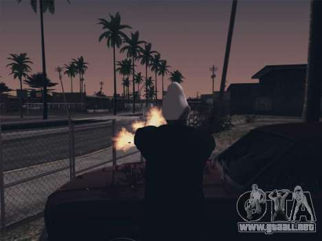Ghetto ENB para GTA San Andreas tercera pantalla