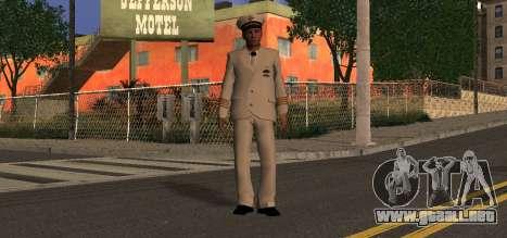 Navy Officer para GTA San Andreas