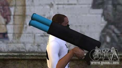M20 BRS Rocket Launcher para GTA San Andreas tercera pantalla