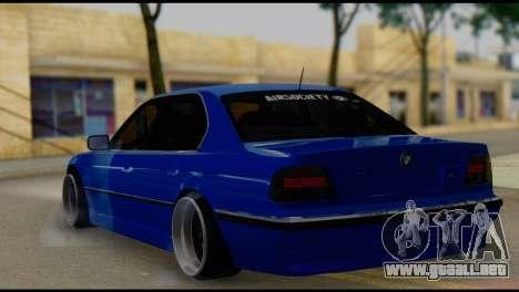 BMW 740i E38 para GTA San Andreas left