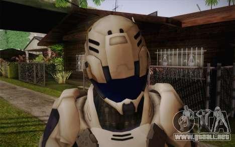 Suit from Vanquish para GTA San Andreas tercera pantalla