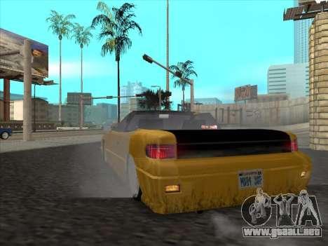 Alpha HD Cabrio para la visión correcta GTA San Andreas