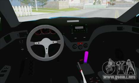 Subaru Impreza WRX STI 2010 para la vista superior GTA San Andreas