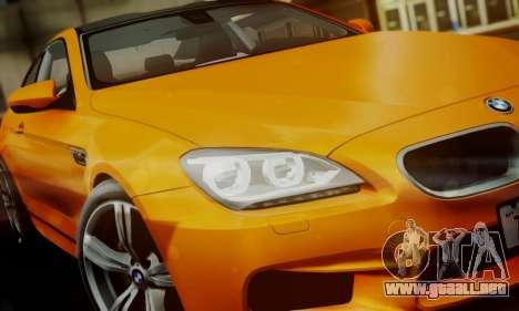 BMW M6 F13 2013 para el motor de GTA San Andreas