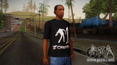 Zombie Polo Shirt para GTA San Andreas