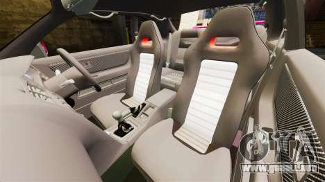 Nissan Skyline R33 1995 para GTA 4 vista interior