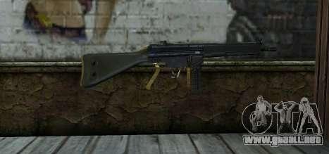 Mexican Army G-3 para GTA San Andreas segunda pantalla
