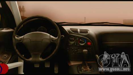 Mazda RX-7 para GTA San Andreas vista posterior izquierda