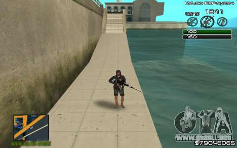 C-HUD by SampHack v.8 para GTA San Andreas