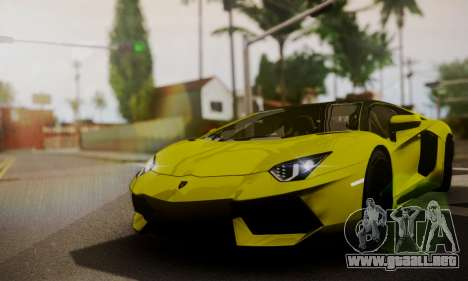 Lamborghini Aventador TT Ultimate Edition para vista lateral GTA San Andreas