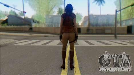 Helena Harper para GTA San Andreas segunda pantalla