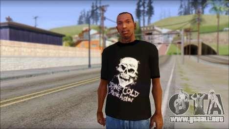 Rey Mystirio T-Shirt para GTA San Andreas