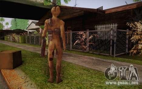 Servant Brute From Amnesia The Dark Descent para GTA San Andreas segunda pantalla
