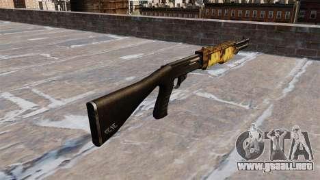 Pistola de Franchi SPAS-12 de Otoño para GTA 4 segundos de pantalla