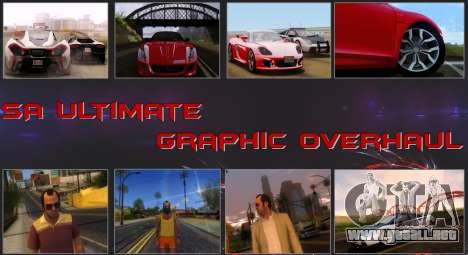 SA Ultimate Graphic Overhaul para GTA San Andreas
