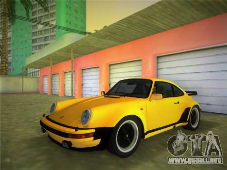 Porsche 911 Turbo 3.3 Coupe US-spec (930) 1978 para GTA Vice City
