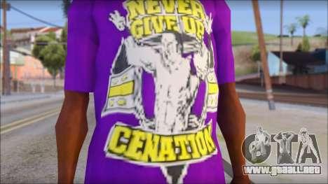 Paises Bajos Sneijder T-Shirt para GTA San Andreas tercera pantalla
