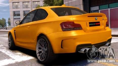 BMW 1M para GTA 4 left