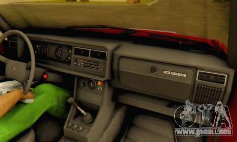 VAZ 2107 Stock para la vista superior GTA San Andreas