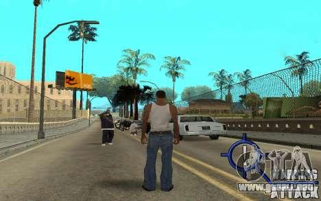 Warning Attack para GTA San Andreas segunda pantalla