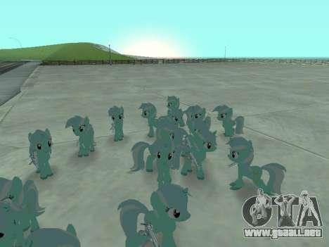 Lyra para GTA San Andreas tercera pantalla