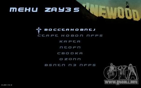 Hud by Videlka para GTA San Andreas tercera pantalla