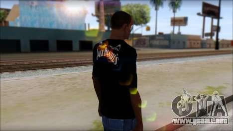 Jack Daniels T-Shirt para GTA San Andreas segunda pantalla