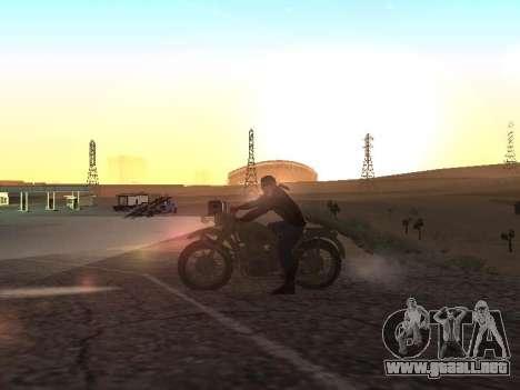 Ural M72 para GTA San Andreas left