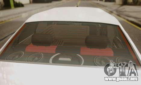 Peugeot Pars Limouzine para GTA San Andreas vista hacia atrás