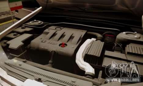 Peugeot Pars Limouzine para vista inferior GTA San Andreas