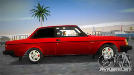 Volvo 242 Turbo Evolution para GTA Vice City visión correcta