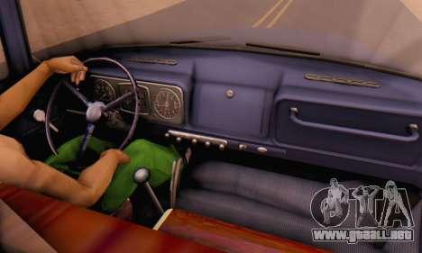 ZIL V para visión interna GTA San Andreas