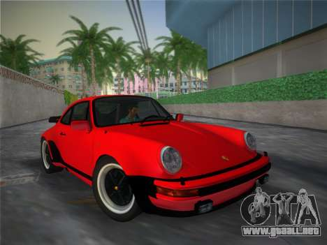 Porsche 911 Turbo 3.3 Coupe US-spec (930) 1978 para GTA Vice City vista lateral
