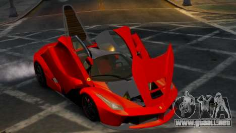 Ferrari LaFerrari WheelsandMore Edition para GTA 4 vista interior