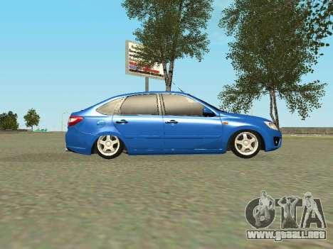 Lada Granta Liftback para vista inferior GTA San Andreas