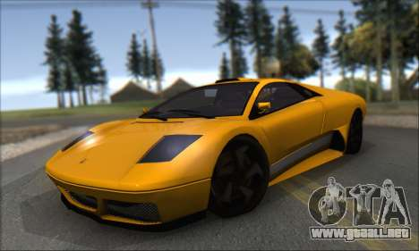 Pegassi Infernus para GTA San Andreas left