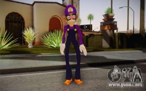 Waluigi from Super Mario para GTA San Andreas