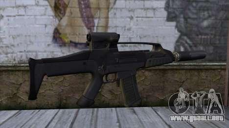 XM8 Compact Black para GTA San Andreas segunda pantalla