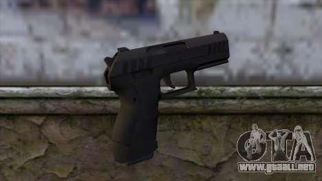 Combat Pistol from GTA 5 v2 para GTA San Andreas segunda pantalla