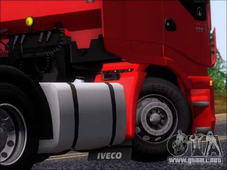 Iveco Stralis HiWay 560 E6 6x4 para vista lateral GTA San Andreas