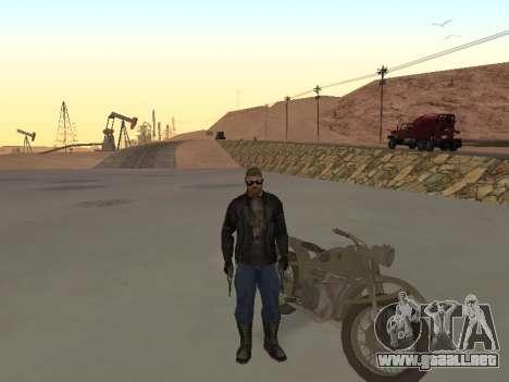 Ural M72 para la visión correcta GTA San Andreas