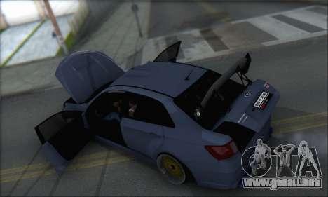Subaru Impreza WRX STI 2010 para GTA San Andreas interior