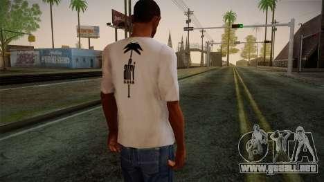 Afri Cola White Shirt para GTA San Andreas segunda pantalla