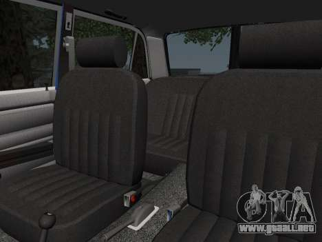 VAZ 21061 para la vista superior GTA San Andreas